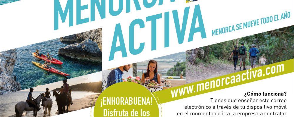 Benefíciate de las promociones Menorca Activa y vive una experiencia inolvidable